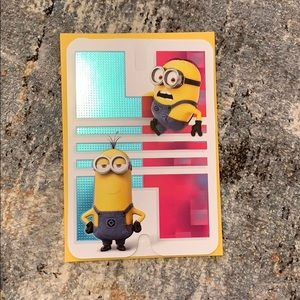 Bundle up❗️Minions Greeting Card